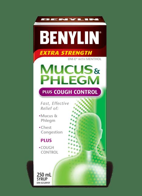 Mucus Phlegm Plus Cough Syrup Benylin Canada