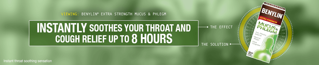 BENYLIN Mucus and Phlegm Products