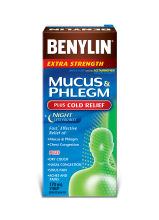 MUCUS & PHLEGM PLUS COLD RELIEF NIGHT Syrup