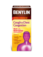 BENYLIN® Cough & Chest Congestion <br /> for People with Diabetes