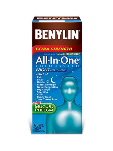 All‑In‑One® COLD AND FLU NIGHT Syrup