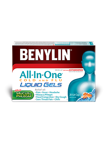 All‑In‑One® COLD AND FLU LIQUID GELS