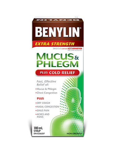 MUCUS & PHLEGM PLUS COLD RELIEF Syrup
