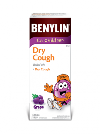 For Children Dry Cough Syrup Benylin 174 Canada