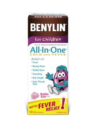 For Children All‑in‑one 174 Cold And Fever Syrup Benylin