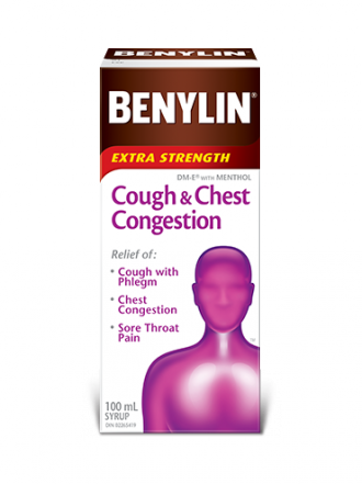 BENYLIN® Cough & Chest Congestion Syrup