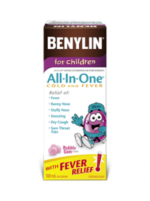 For ChildrenAll‑In‑One® COLD AND FEVER Syrup