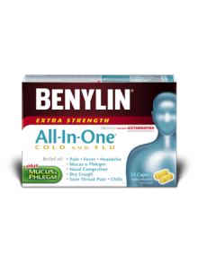 All‑In‑One® COLD AND FLU Caplets