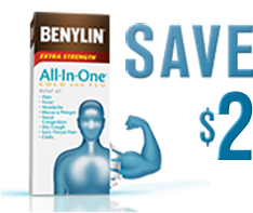SAVE ON BENYLIN® PRODUCTS
